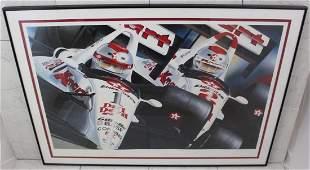 Mario Andretti Lithograph