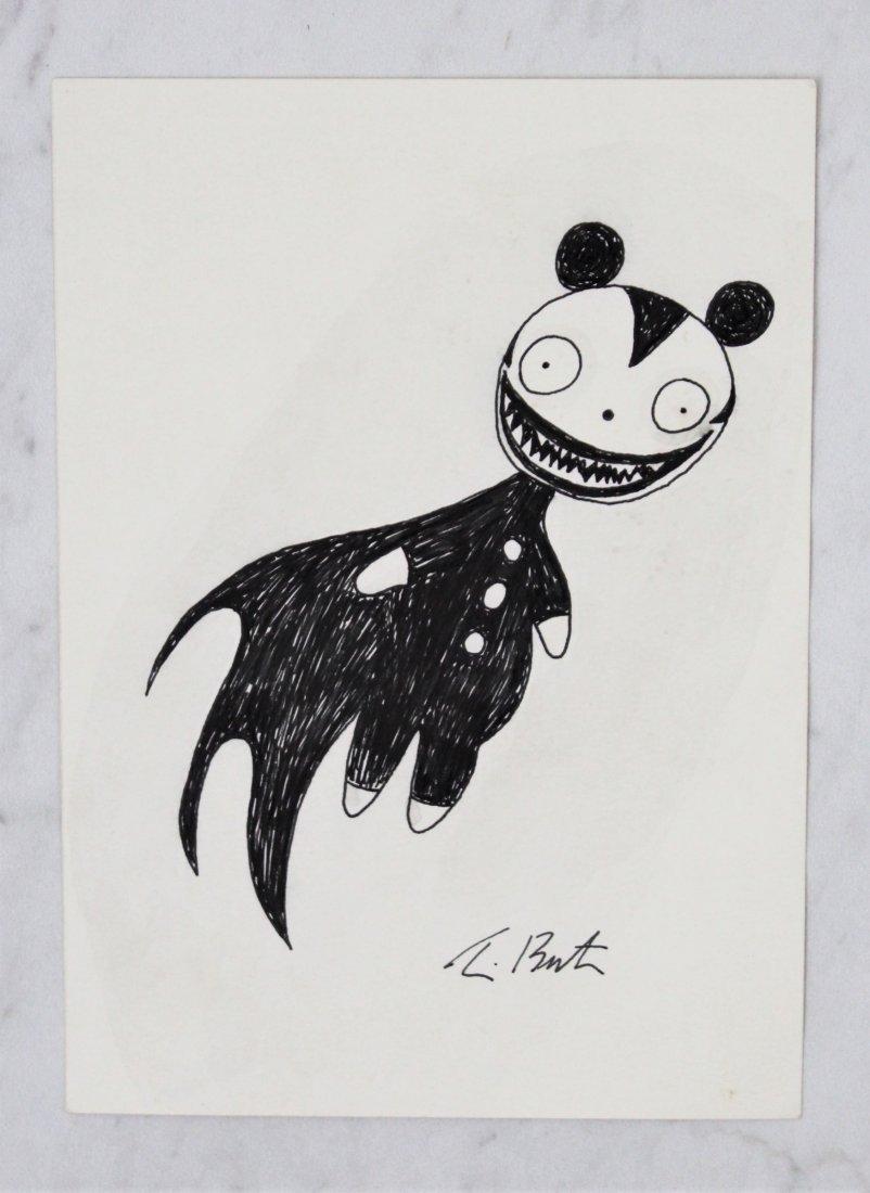 Tim Burton Drawing