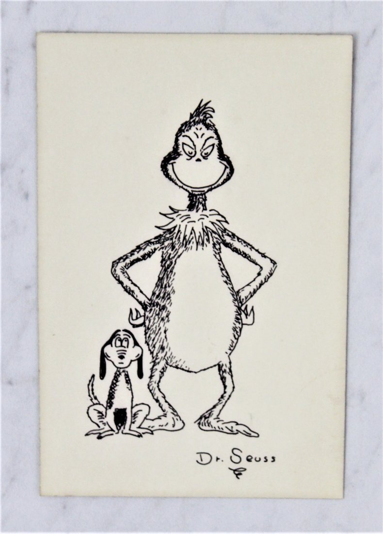 Dr. Suess Drawing