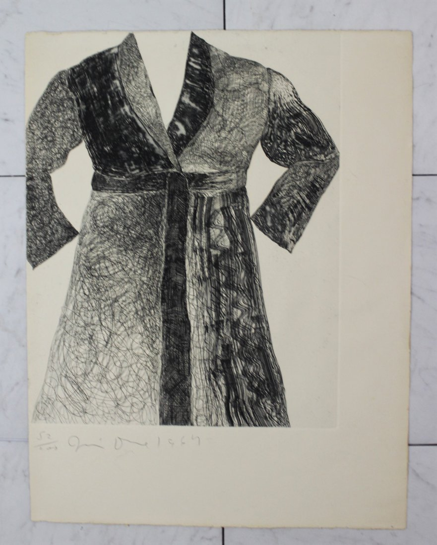 Jim Dine Signed Etching