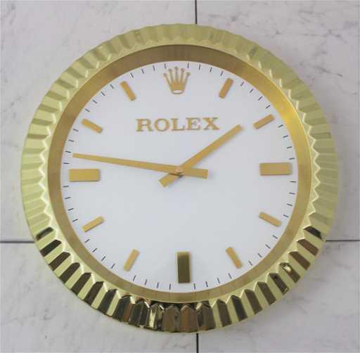 Rolex Presidential Dealer Clock Placeholder
