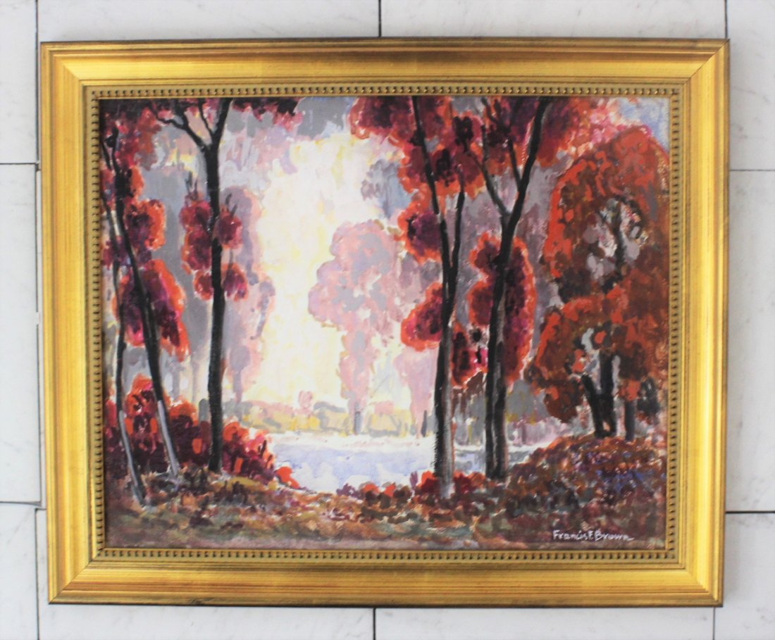 Francis Focer Brown Painting
