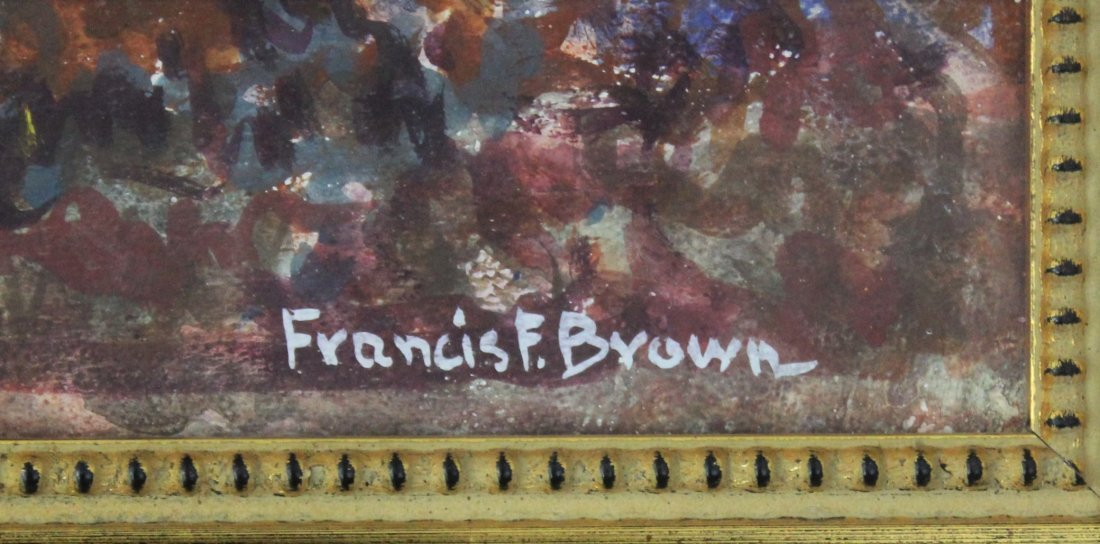 Francis Focer Brown Painting - 2