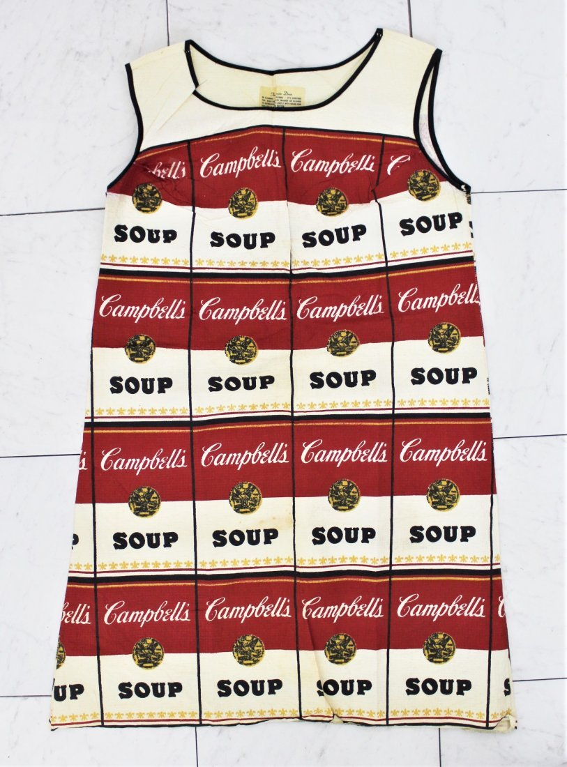Andy Warhol Souper Dress