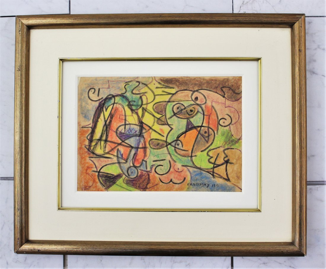 Wassily Kandinsky Lithograph