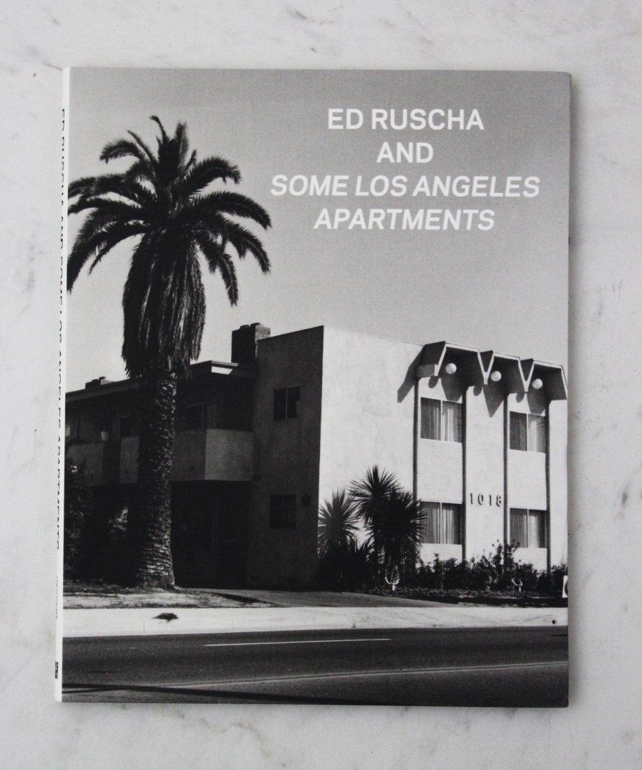 Ed Ruscha Signed Book