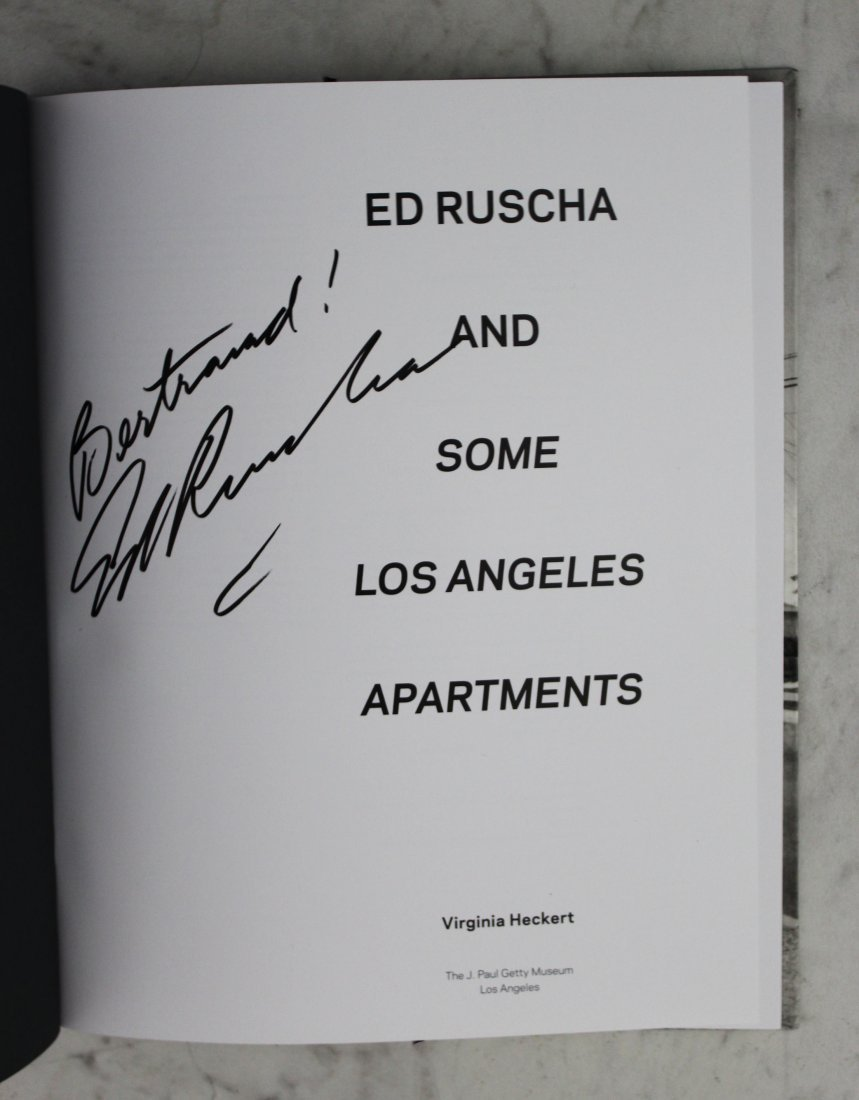 Ed Ruscha Signed Book - 4