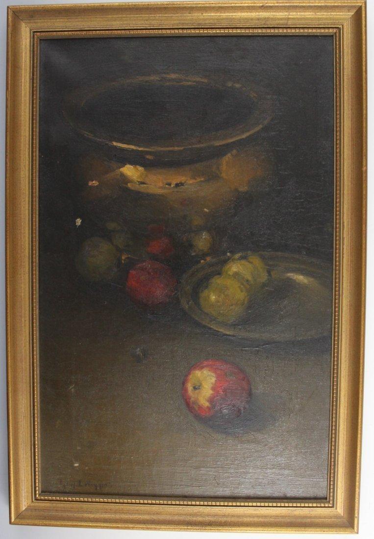 Guy Wiggins, Still Life Oil Painting