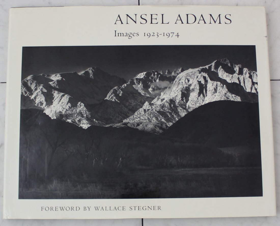 Ansel Adams Signed Book