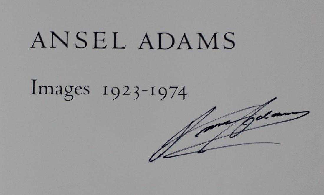 Ansel Adams Signed Book - 3