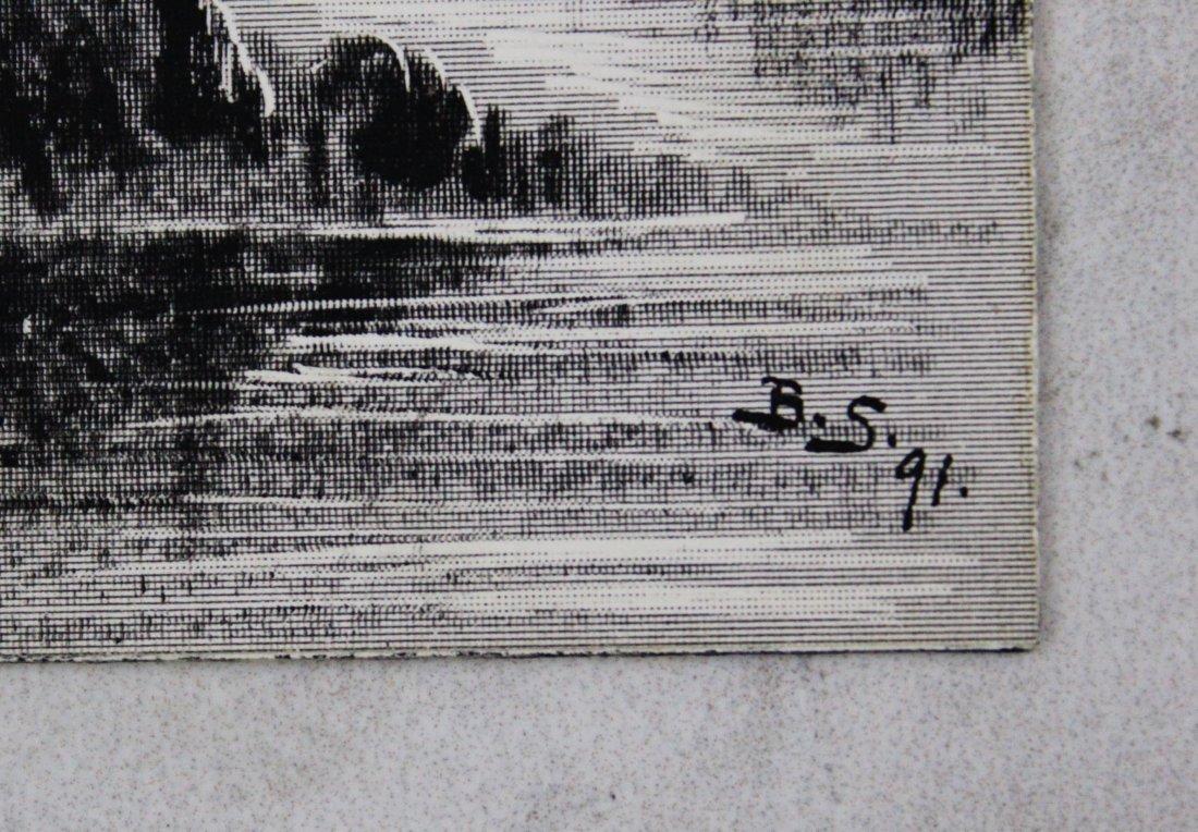 Birger Sandzen Signed Print - 3