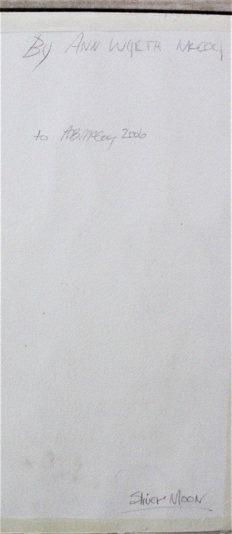 Ann Wyeth McCoy Watercolor - 4