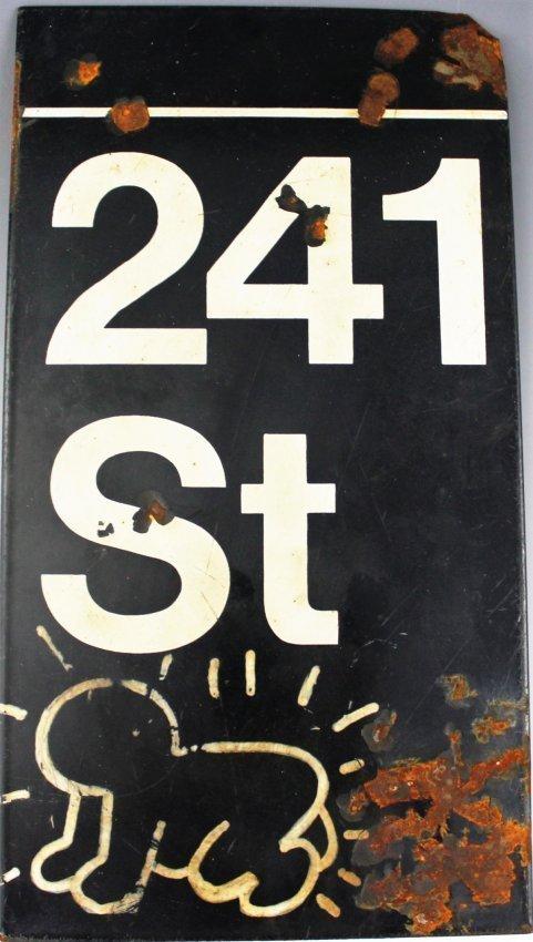 Keith Haring, Subway Sign