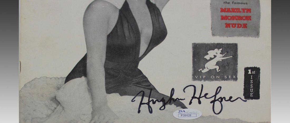 Hugh Hefner Signed First Issued Playboy Magazine - 3