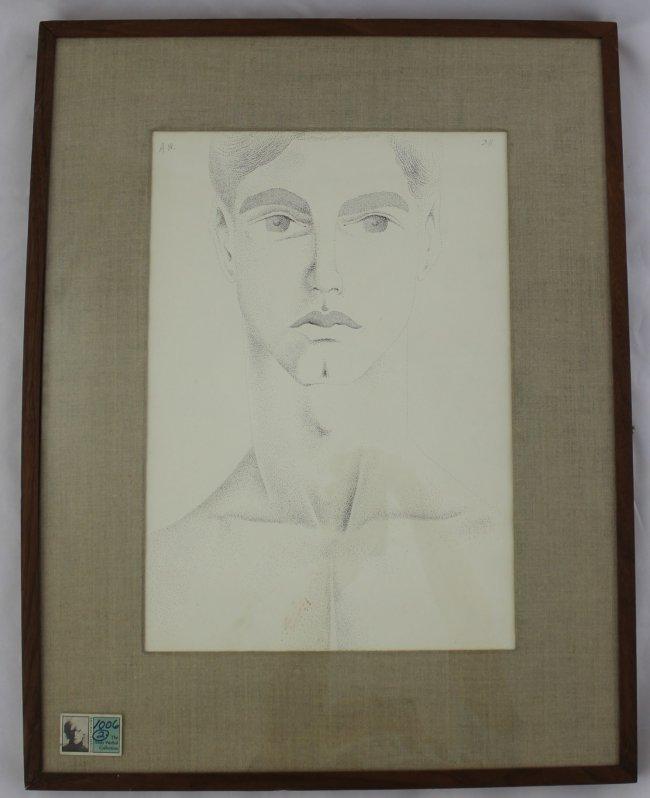 Andy Warhol, Dudley Huppler Ink Drawings