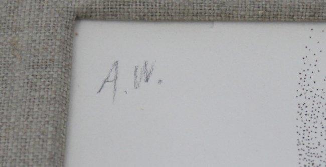 Andy Warhol, Dudley Huppler Ink Drawings - 2