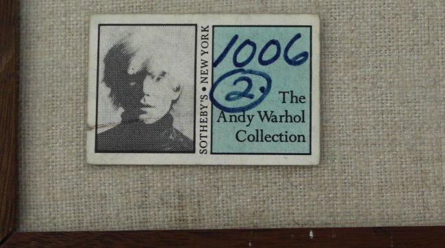 Andy Warhol, Dudley Huppler Ink Drawings - 4