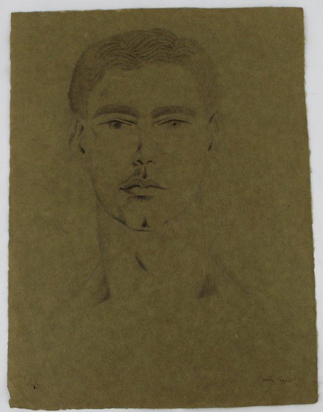 Andy Warhol, Dudley Huppler Ink Drawings - 5