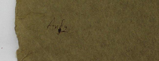 Andy Warhol, Dudley Huppler Ink Drawings - 6