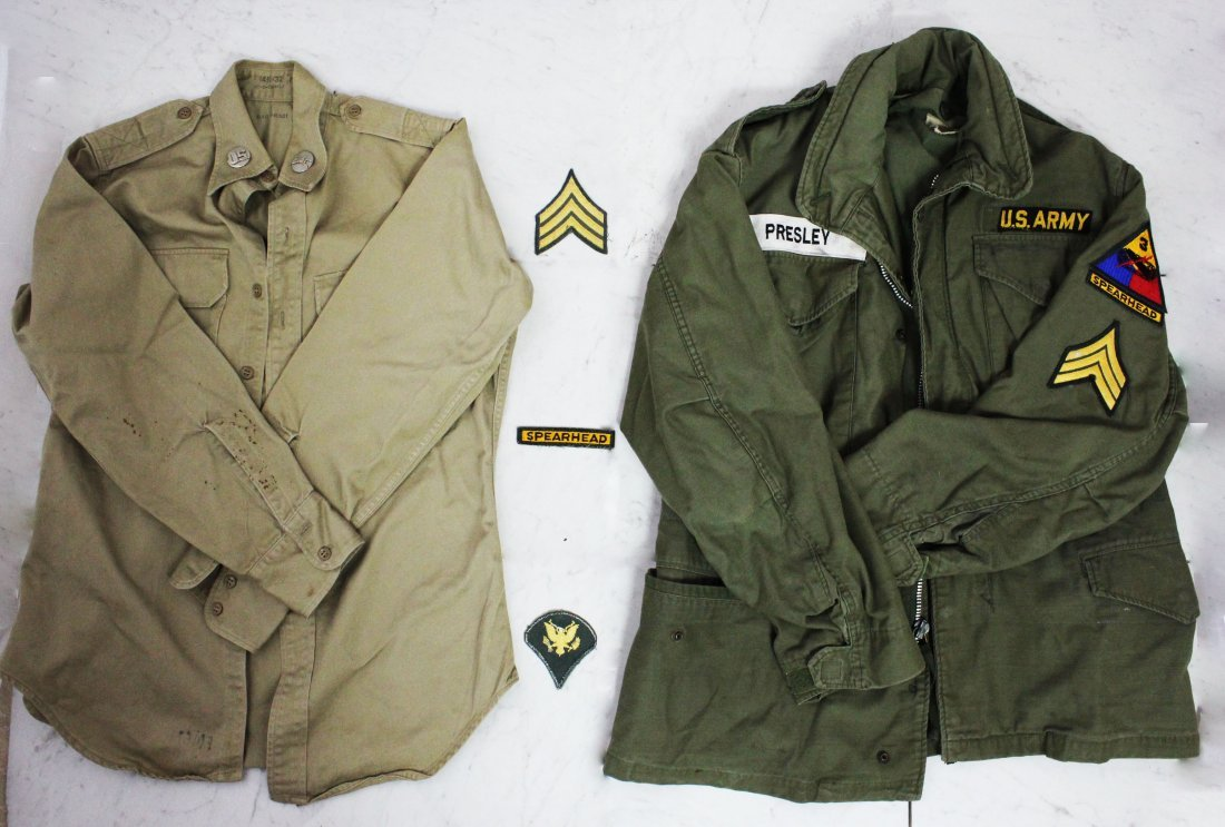 Elvis Presley's Army Jackets