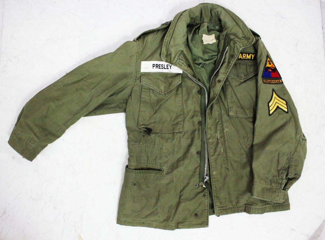 Elvis Presley's Army Jackets - 2