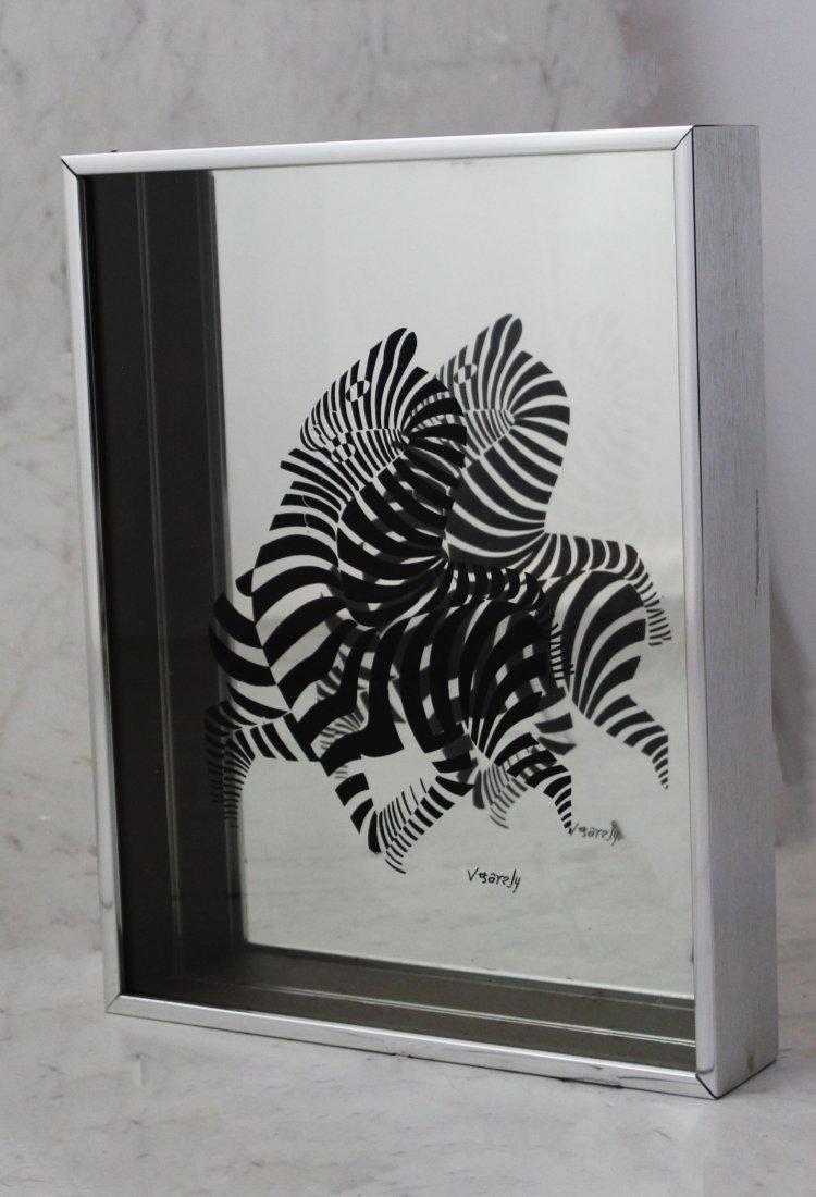 Victor Vasarely Mirror Box