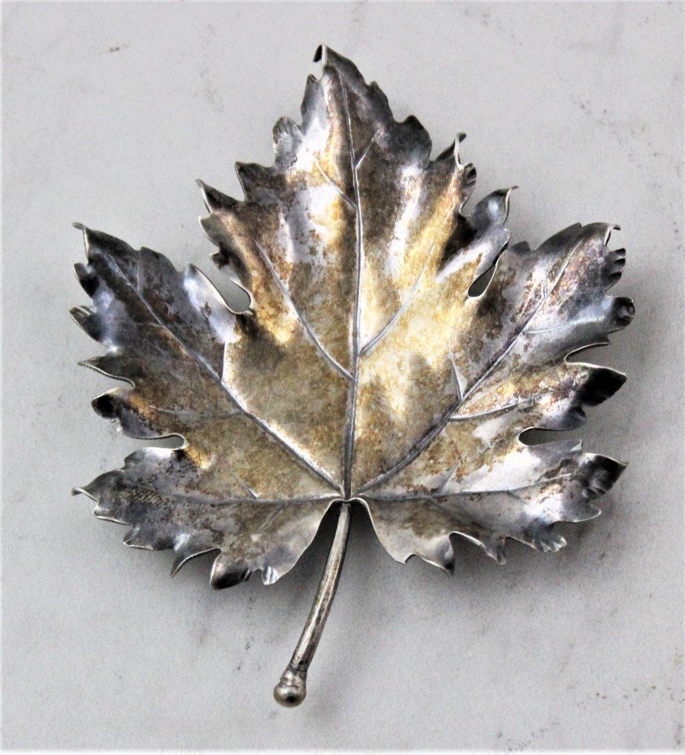 Mario Buccellati Silver Leaf