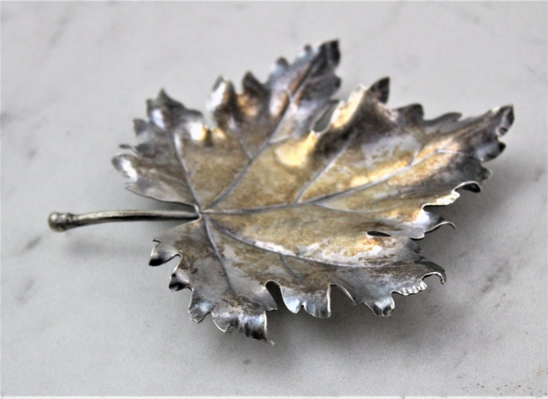 Mario Buccellati Silver Leaf - 3