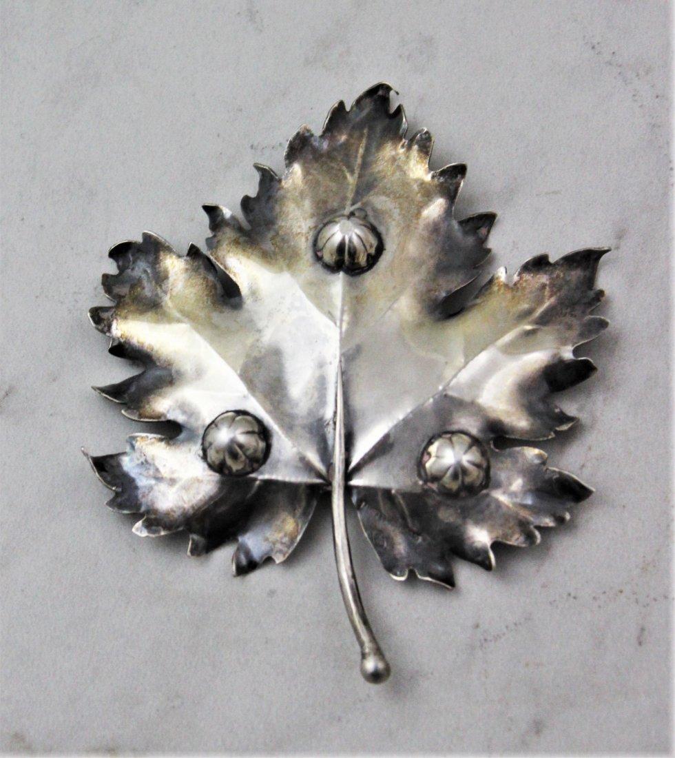 Mario Buccellati Silver Leaf - 4