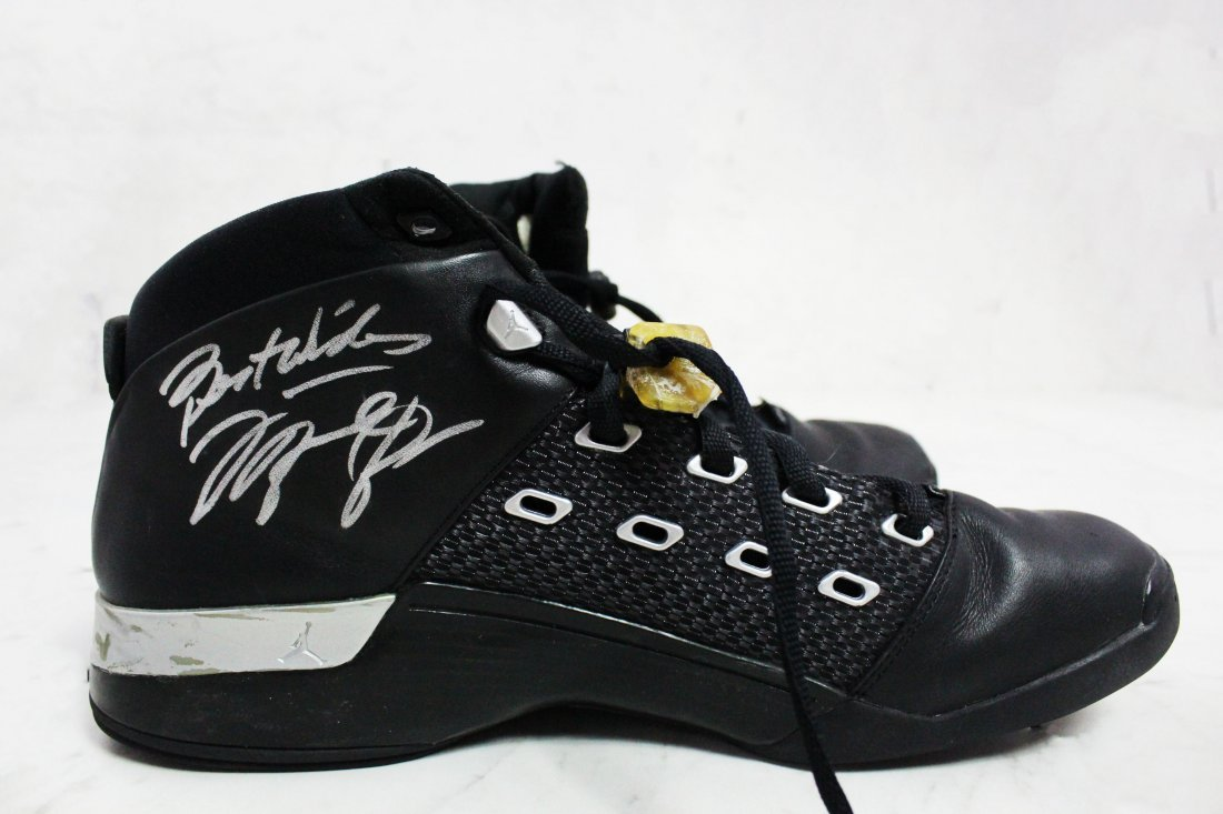 Michael Jordan NBA Worn Shoes - 3