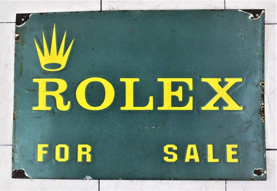 Rolex Watch Sign