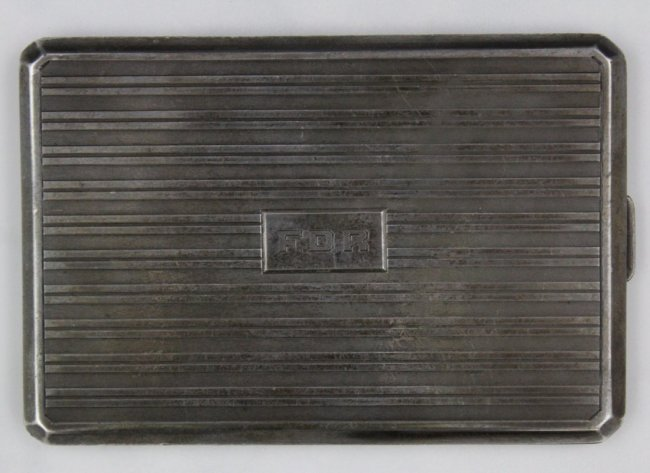 "Franklin D. Roosevelt""s Cigarette Case"