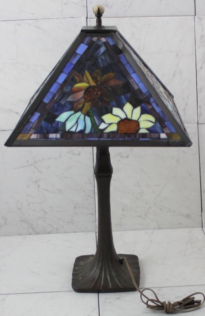 Handel Stained Glass Lamp