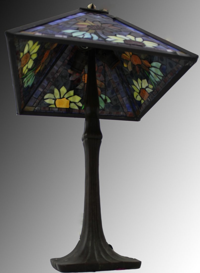 Handel Stained Glass Lamp - 3