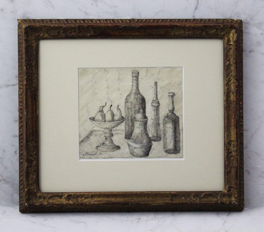 Giorgio Morandi Drawing