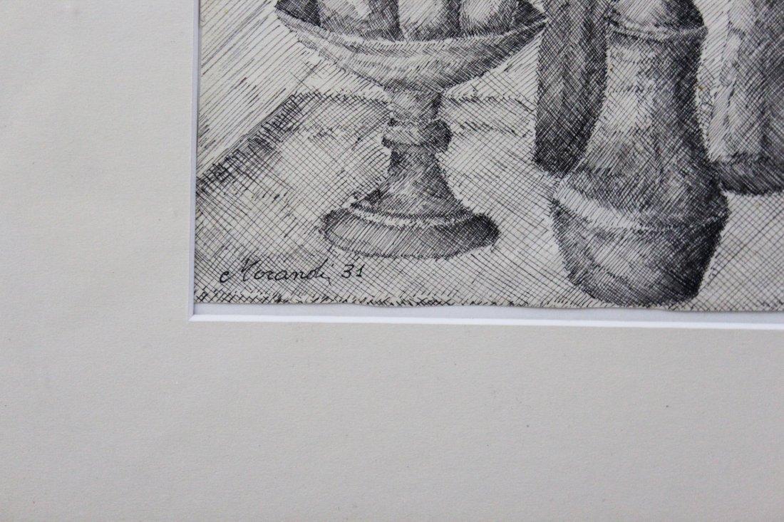 Giorgio Morandi Drawing - 2
