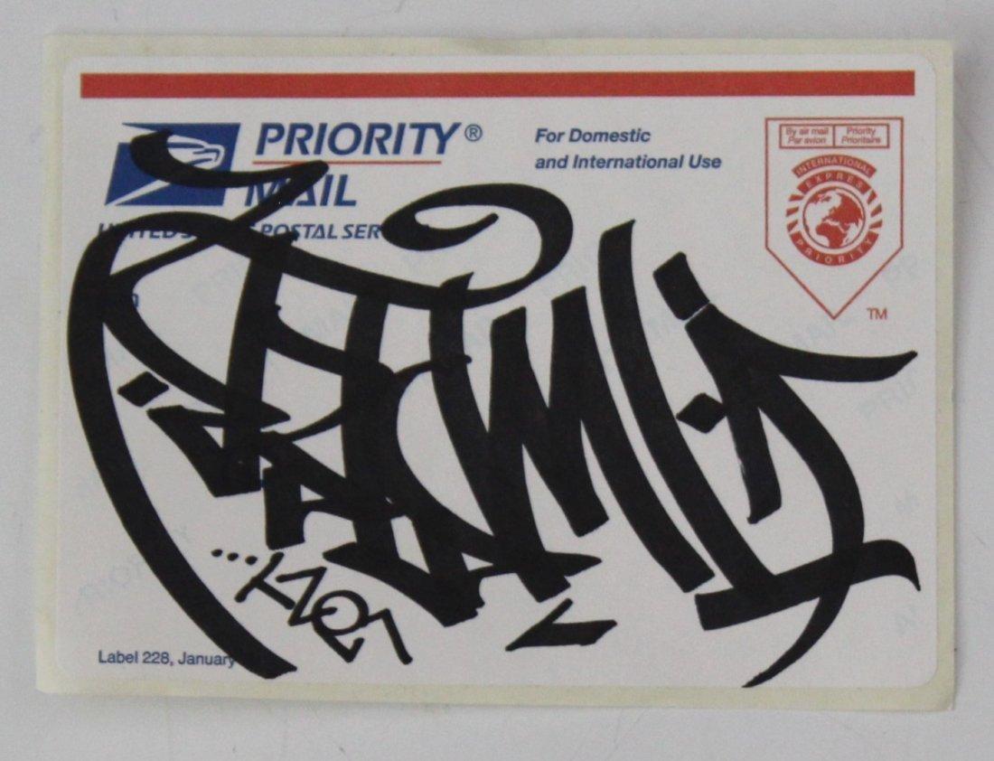 Barry Mcgee Hand Drawn Graffiti Sticker