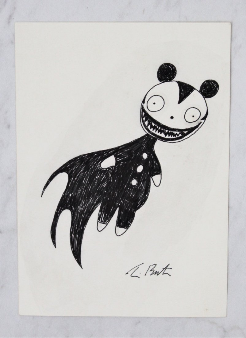 Tim burton prices 90 auction price results tim burton drawing reviewsmspy