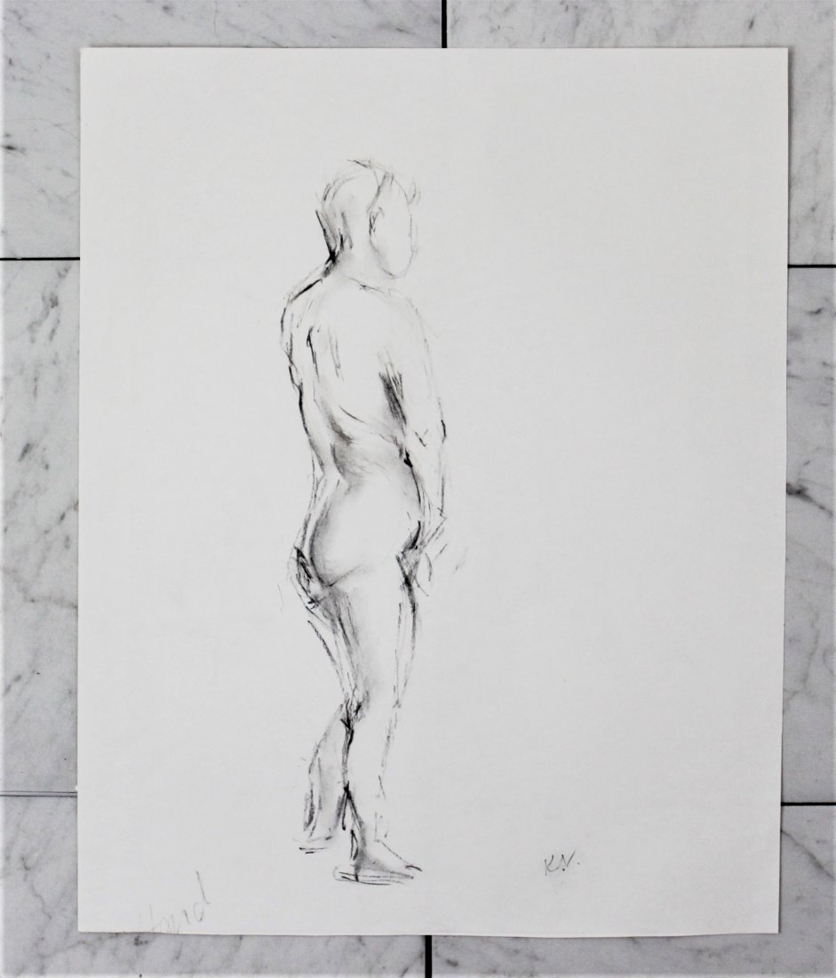 Keith Vaughan Drawing