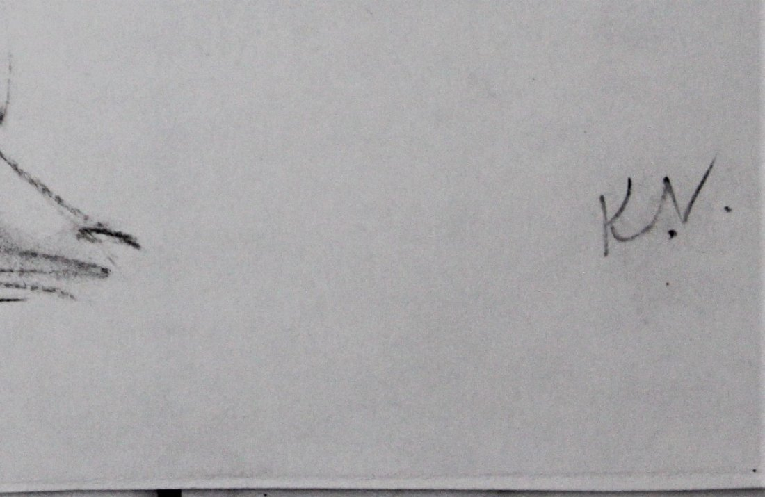 Keith Vaughan Drawing - 2