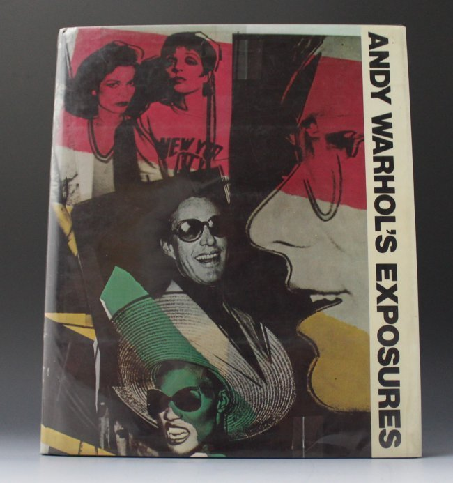 Andy Warhol Signed Exposures Book