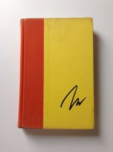 The Philosophy of Andy Warhol Signed Book