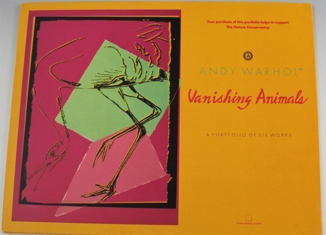 Andy Warhol Vanishing Animals