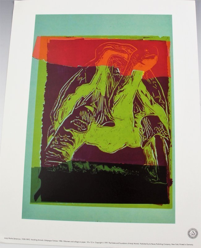 Andy Warhol Vanishing Animals - 2