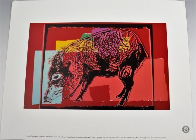 Andy Warhol Vanishing Animals - 3