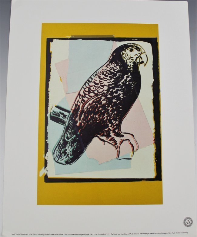 Andy Warhol Vanishing Animals - 4