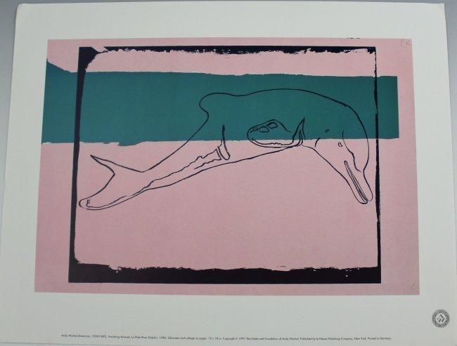 Andy Warhol Vanishing Animals - 5