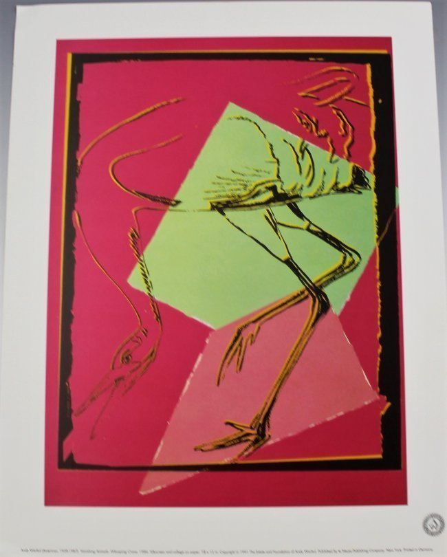 Andy Warhol Vanishing Animals - 6