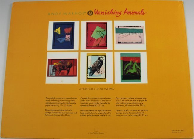 Andy Warhol Vanishing Animals - 7