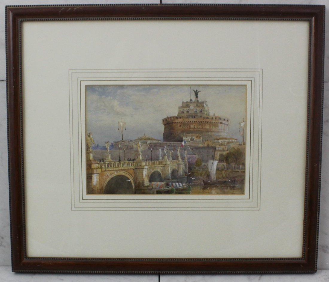 John Whitacre Allen Watercolor